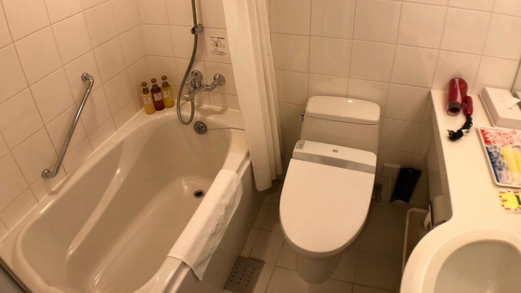 ホテル近鉄ユニバーサル・シティ お風呂・トイレ