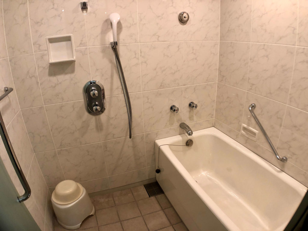 ホテル京阪 ユニバーサル・タワー タワーグランデ デラックスルーム お風呂